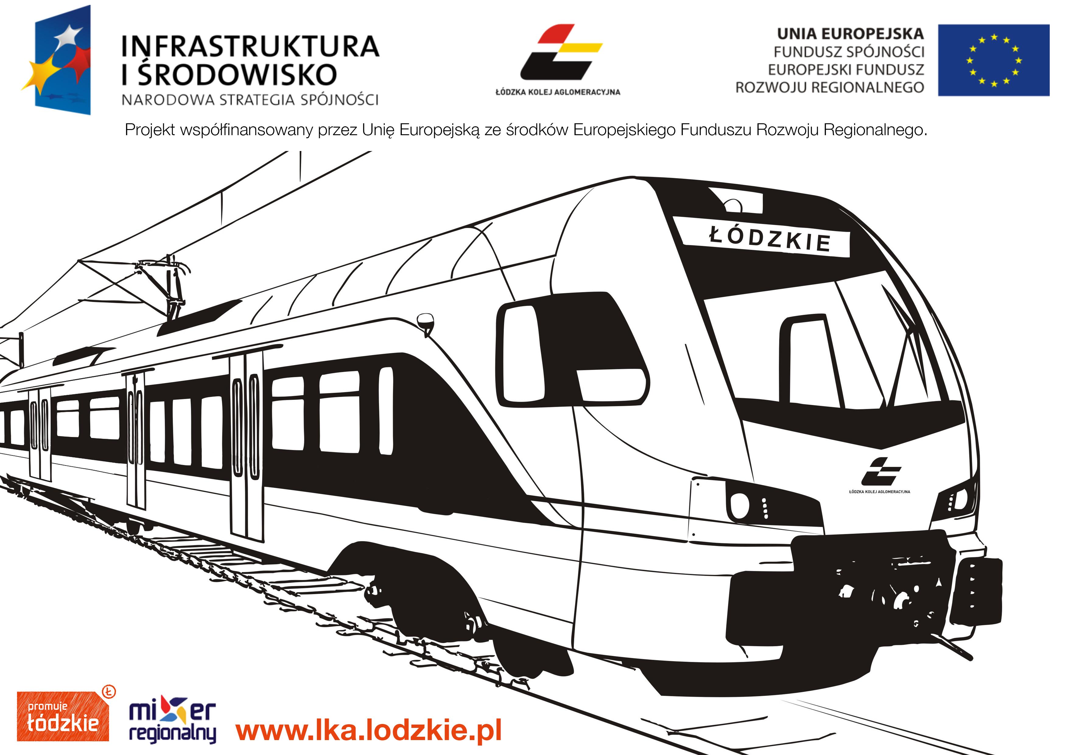 Pomaluj Pociąg łka Konkurs Dla Dzieci Kurier Kolejowy